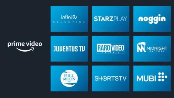Prime Video Channels in Italia